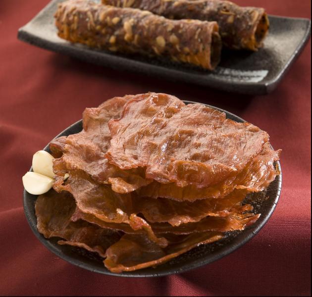 蒜味肉乾140g 1